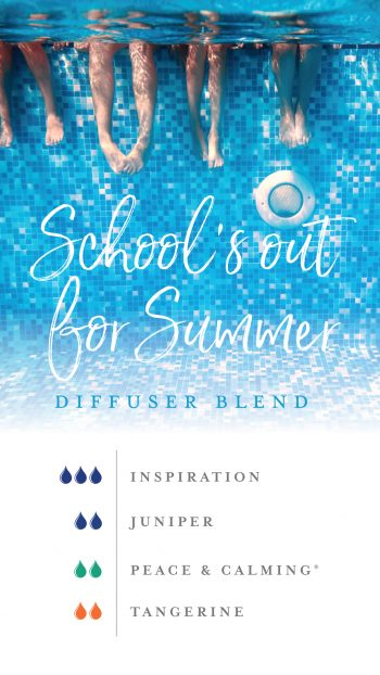 School's out for Summer diffuser blend