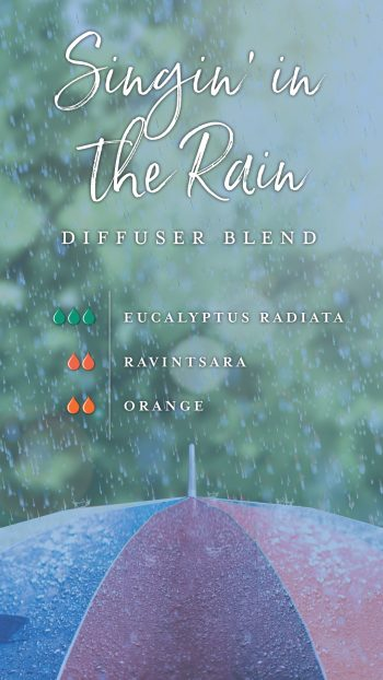 Singin' in the Rain diffuser blend