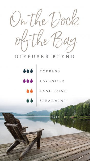 On the dock of the bay diffuser blend