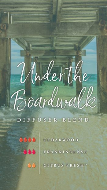 Under the Boardwalk diffuser blend