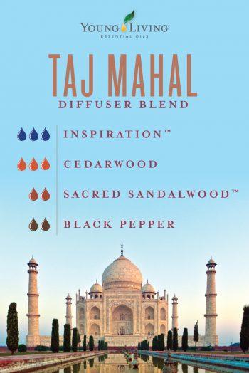 Taj Mahal diffuser blend