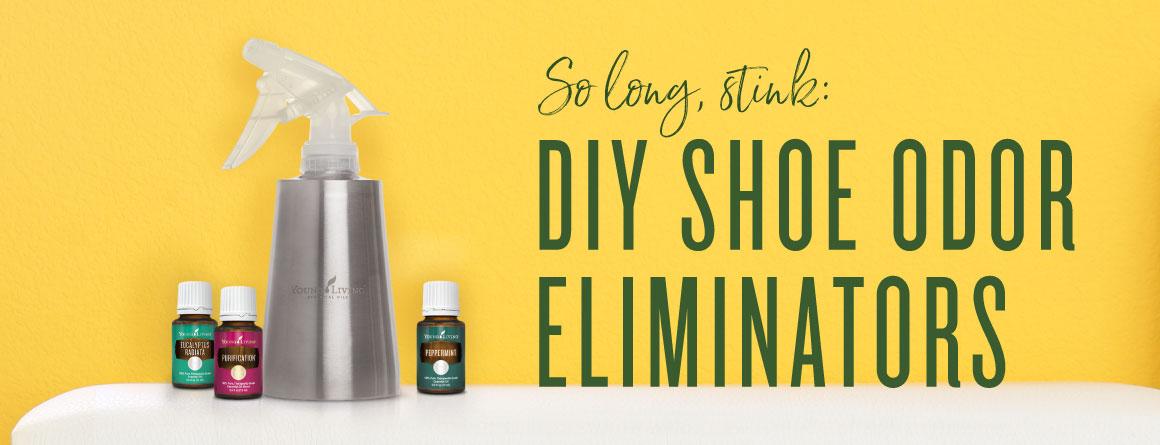 DIY Shoe Odor Eliminator Powder and Spray   Young Living Blog