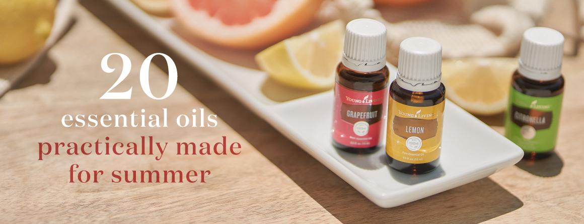 20 essential oils practically made for summer - young living essential oils