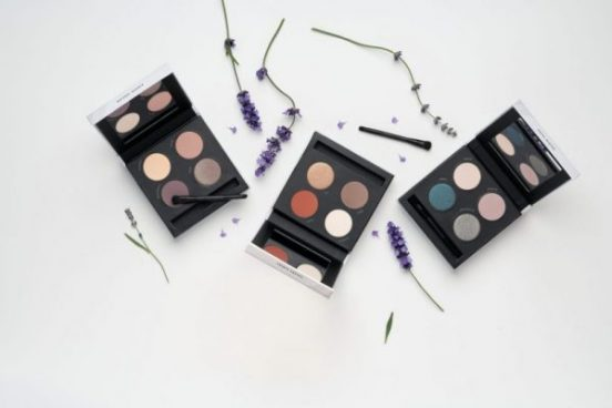 three savvy minerals eye shadow palettes
