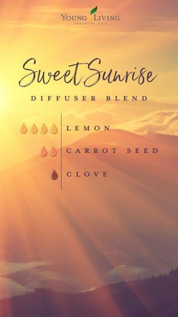 Sweet Sunrise diffuser blend