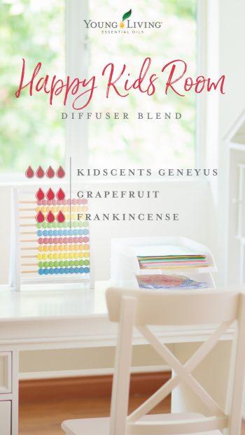 happy kids room diffuser blend