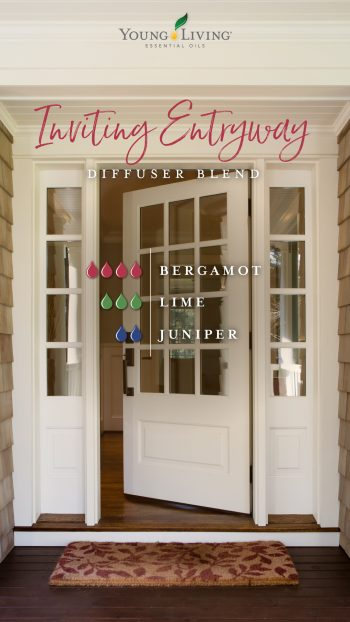 Inviting Entryway diffuser blend