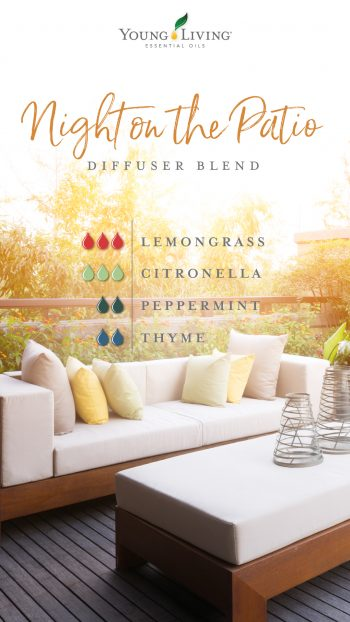night on the patio diffuser blend