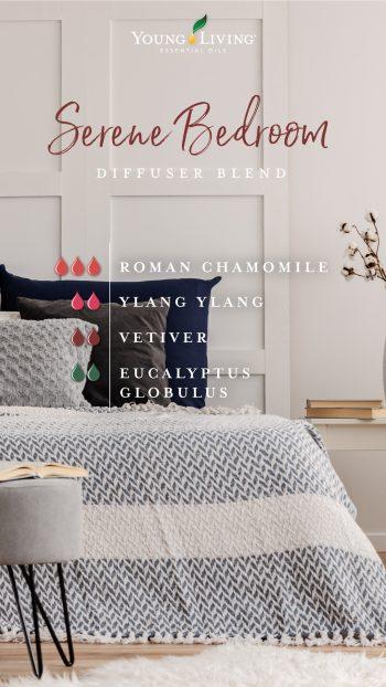 Serene bedroom diffuser blend