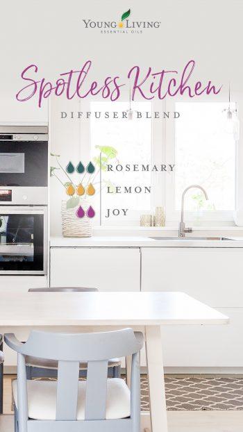Spotless kitchen diffuser blend