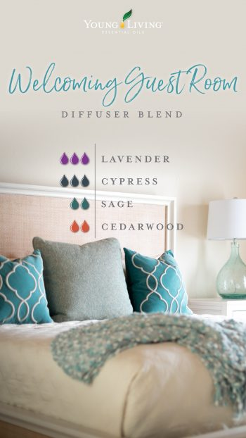 welcoming guest room diffuser blend