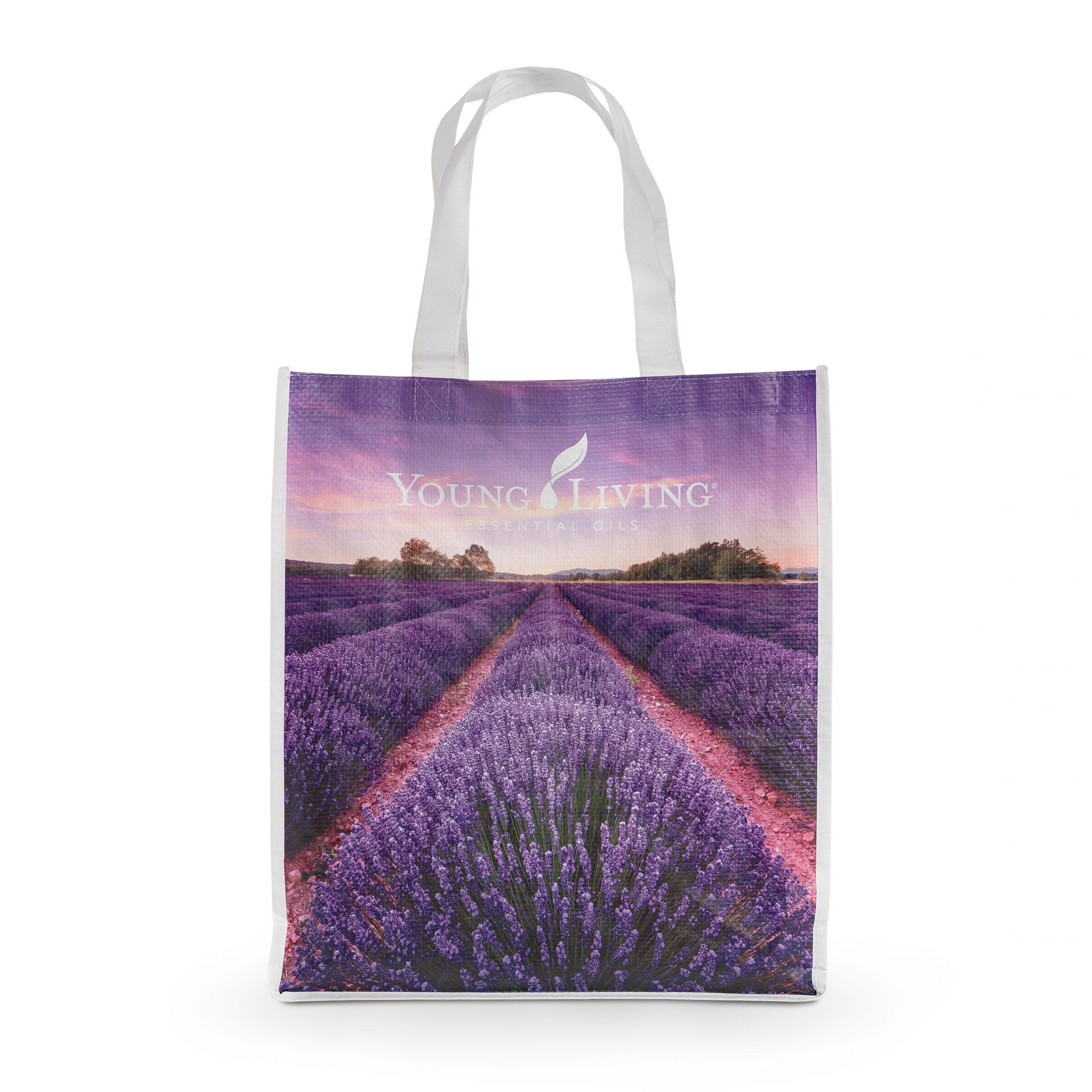 YL gear lavender shopping tote
