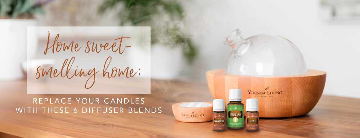 Home sweet-smelling home: Replace your candles with these 6 diffuser blends