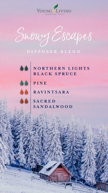 Snowy escapes diffuser blend