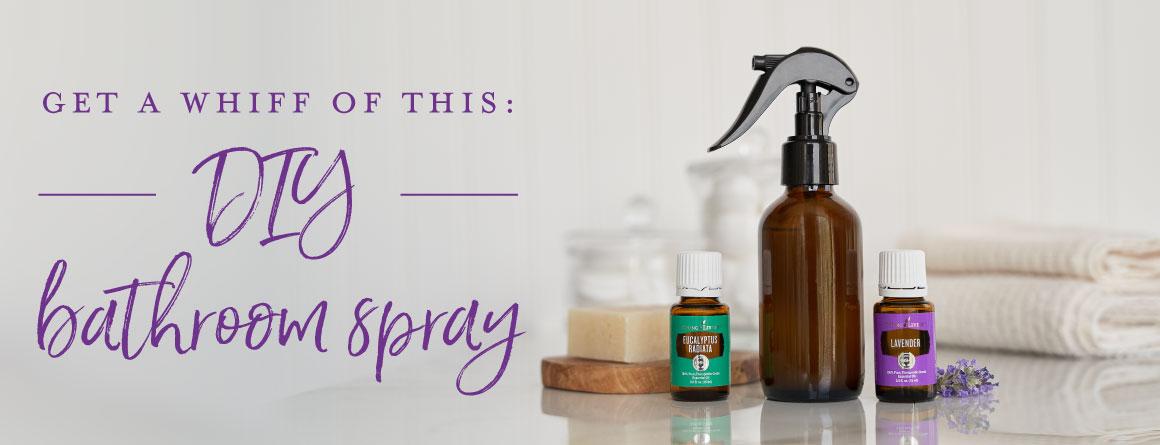 Get a whiff of this: DIY bathroom spray