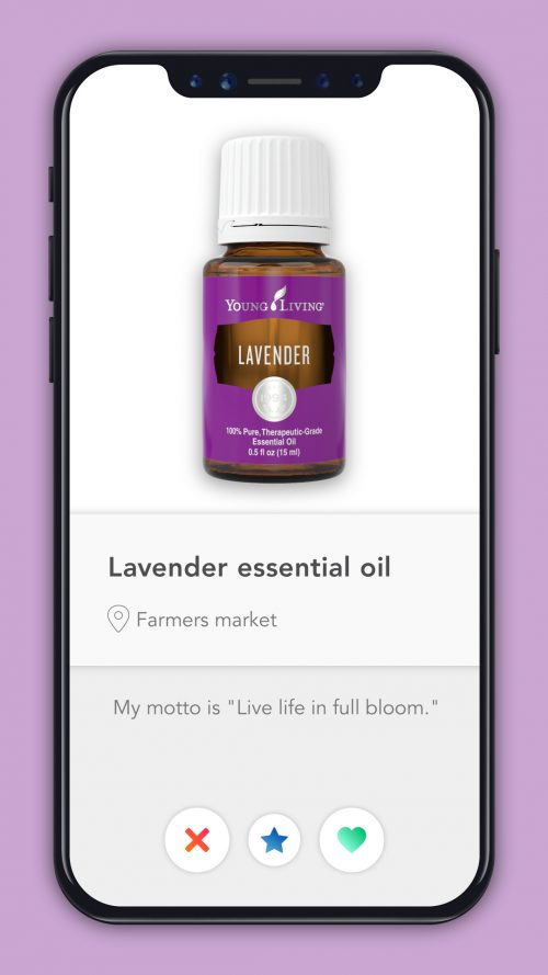 essential oil dating profiles Lavender