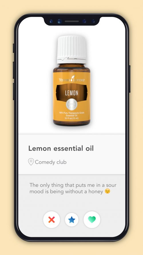 essential oil dating profiles Lemon