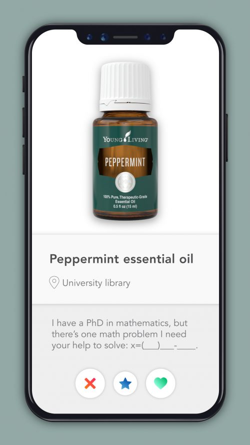 essential oil dating profiles Peppermint