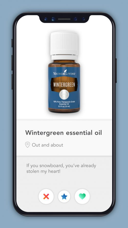 essential oil dating profiles Wintergreen