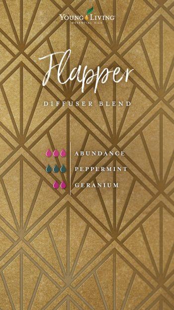Flapper diffuser blend