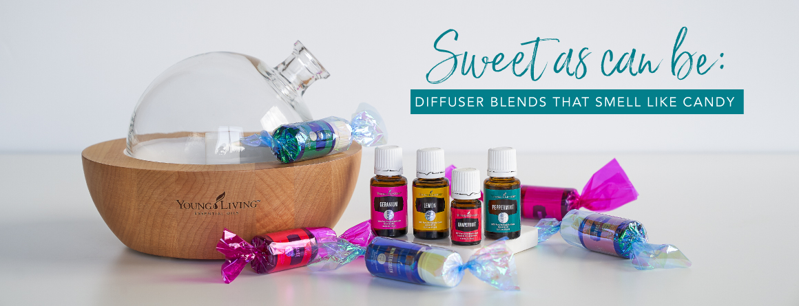 Sweet as can be: Diffuser blends that smell like candy