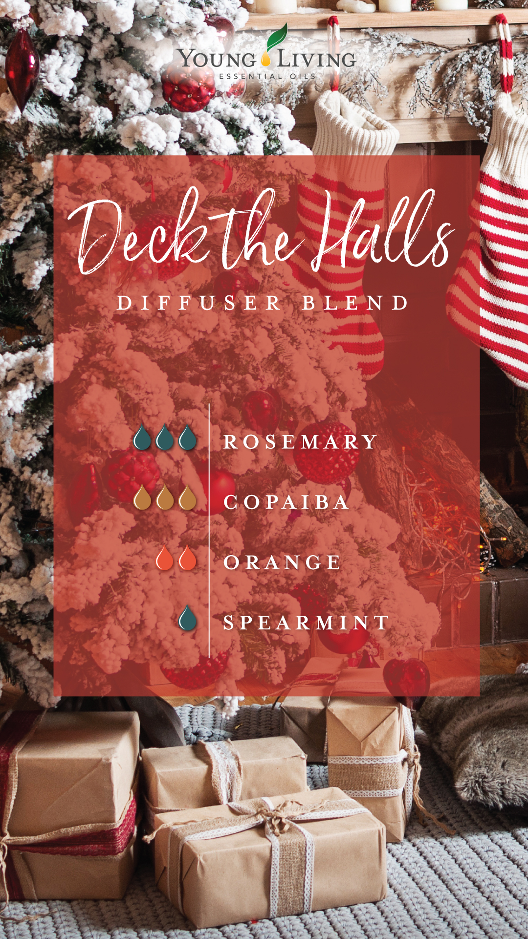 Deck the halls diffuser blend