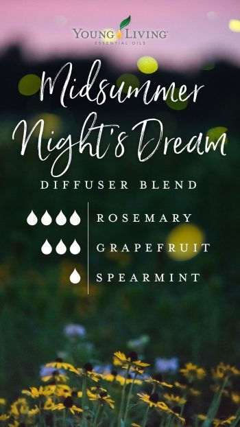 4 drops Rosemary 3 drops Grapefruit 1 drop Spearmint