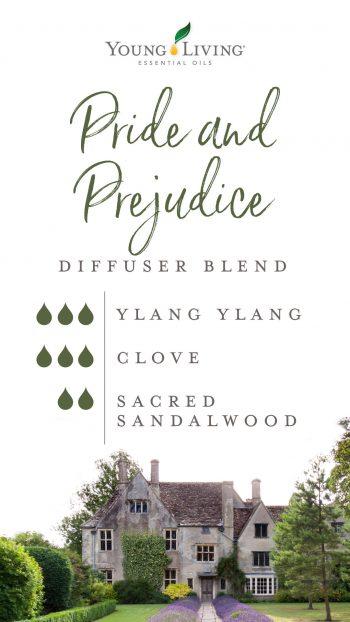 3 drops Ylang Ylang 3 drops Clove 2 drops Sacred Sandalwood