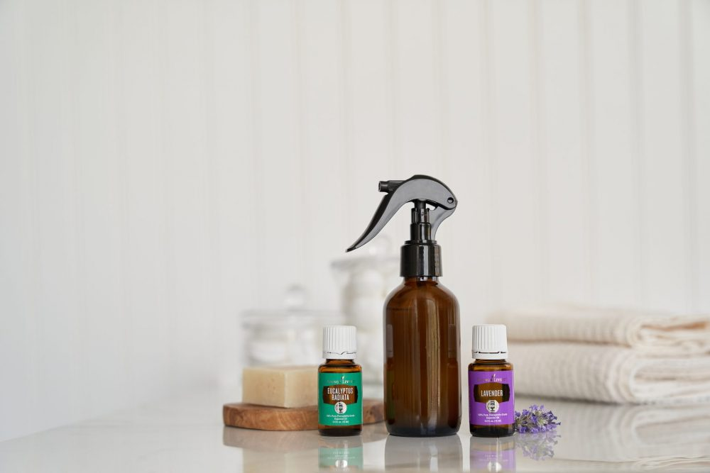 DIY poo pourri with essential oils
