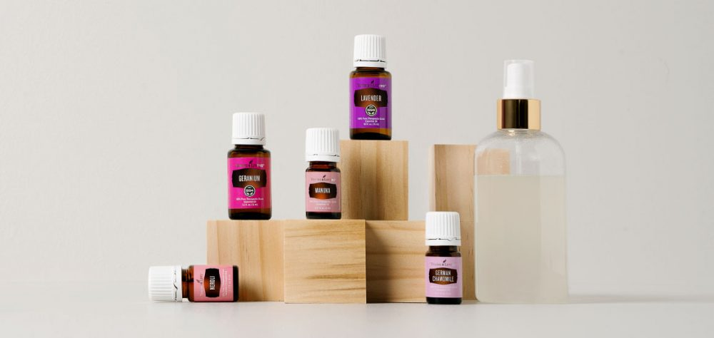 diy body sprays with the best essential oils for spring
