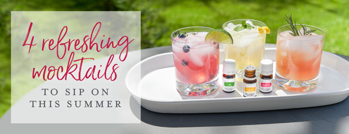 4 refreshing mocktails to sip on this summer