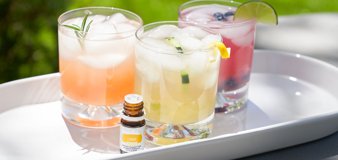DIY summer mocktails