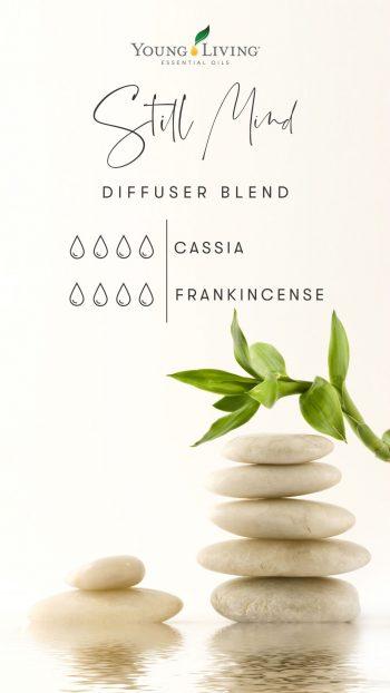 4 drops Cassia 4 drops Frankincense