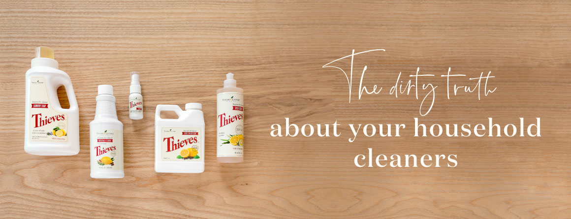 Thieves dish soap and cleaner