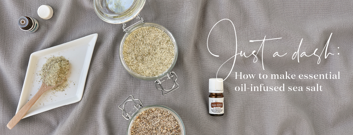 How to make essential oil-infused sea salt