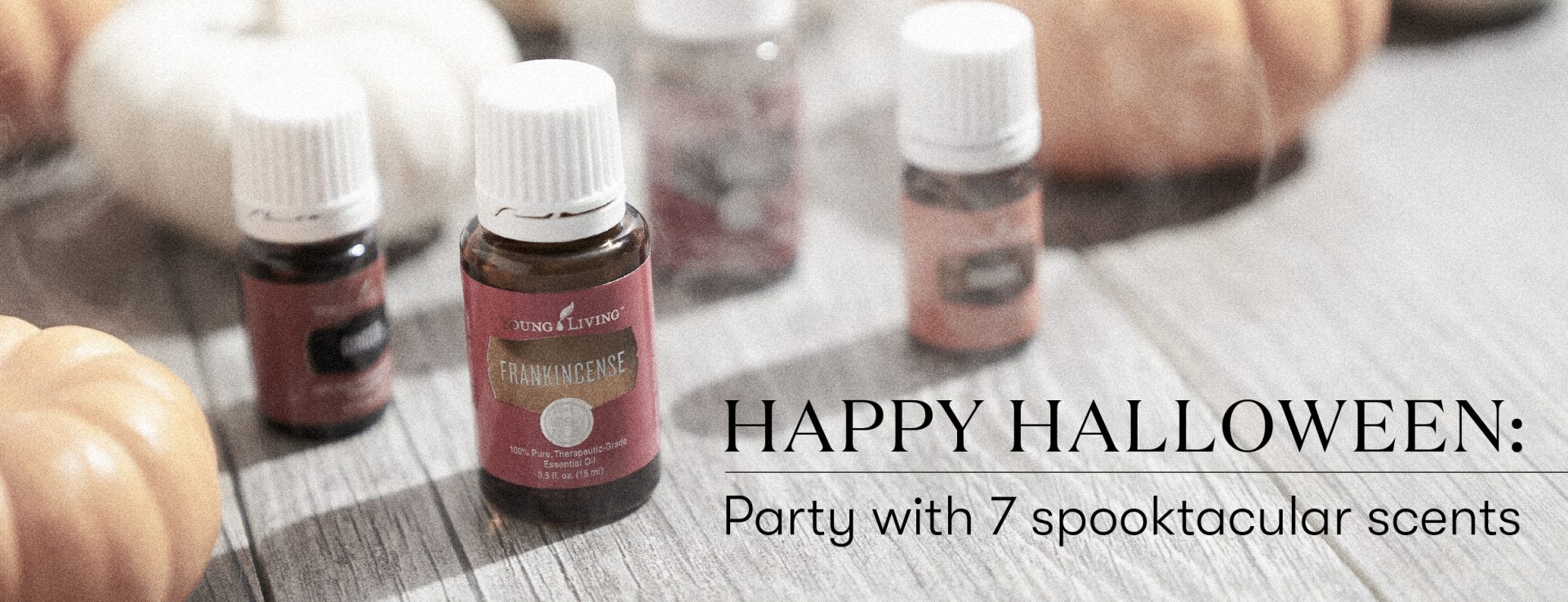 Happy Halloween Party with 7 spooktacular scents