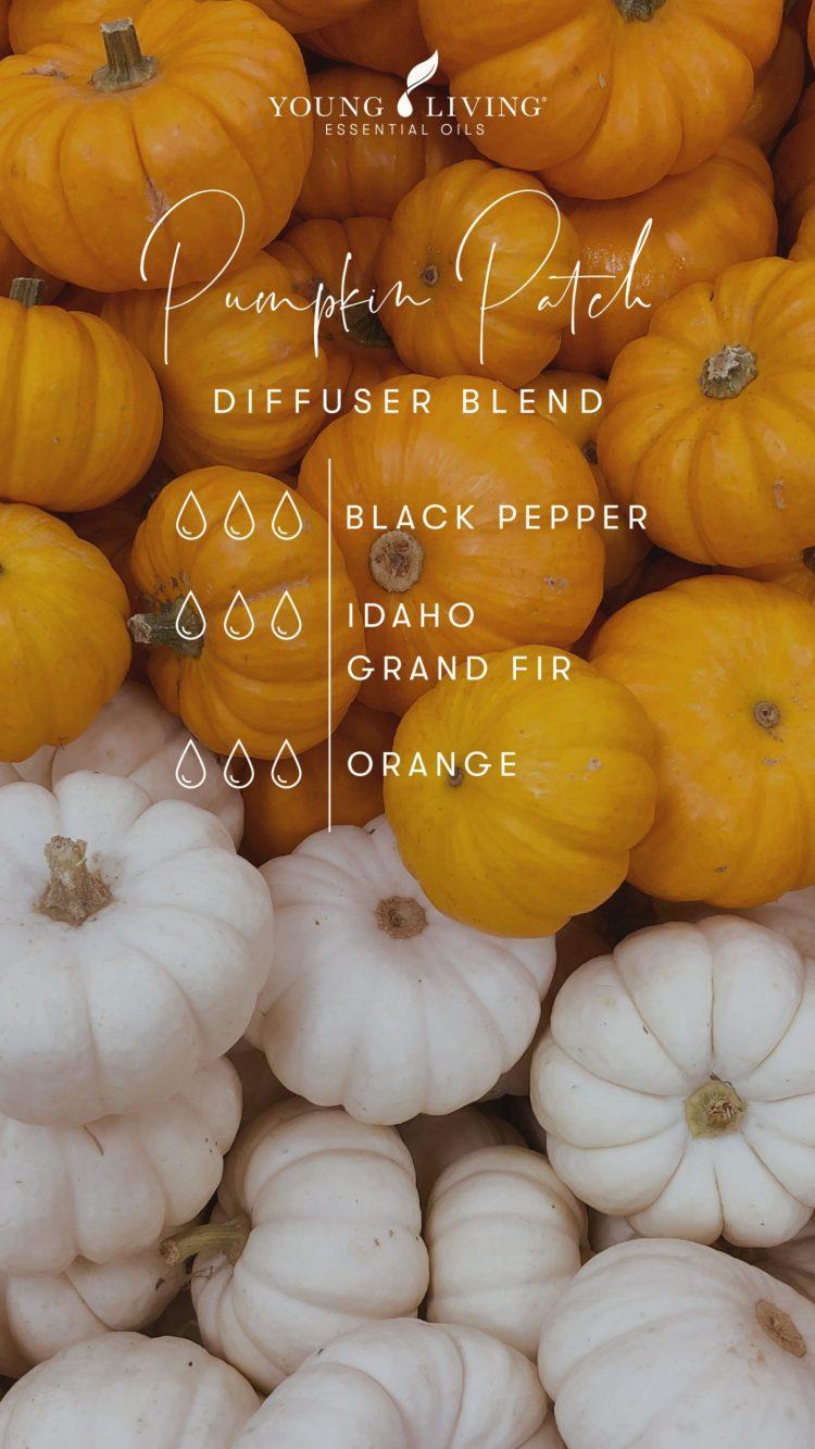 3 drops Black Pepper 3 drops Idaho Grand Fir 3 drops Orange