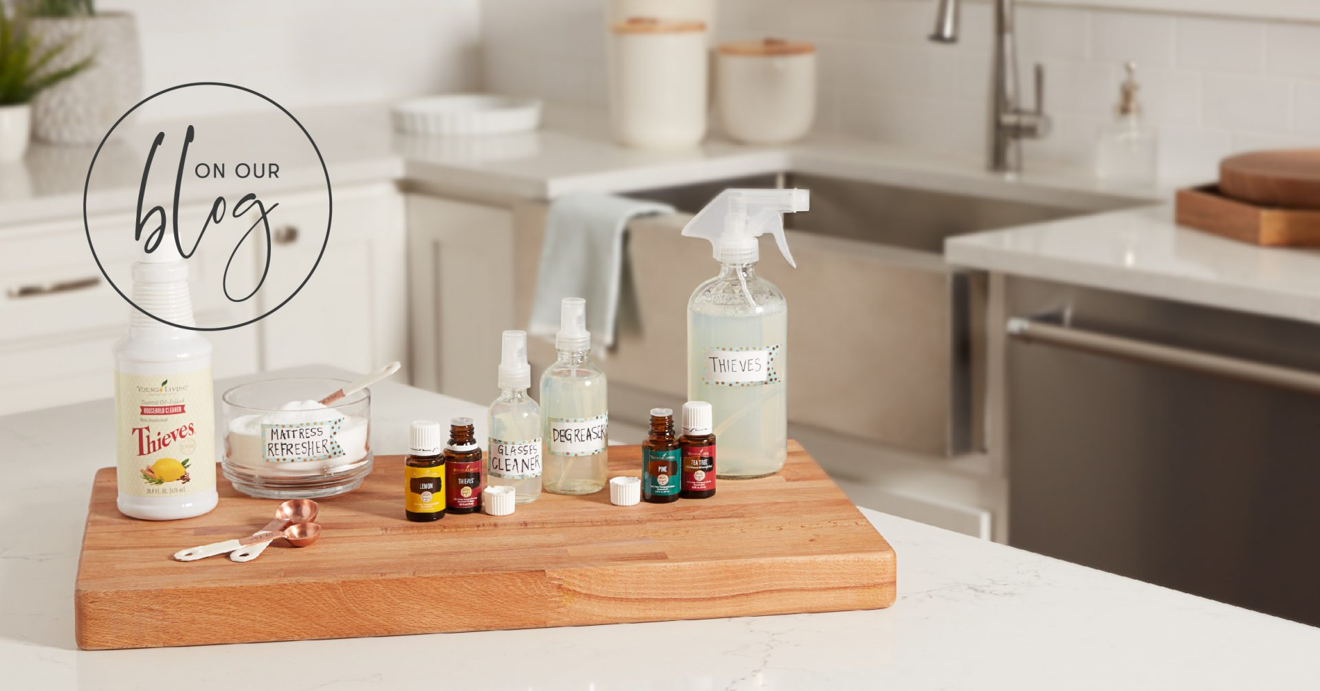 Thieves Household Cleaner Diy Tips Young Living Blog