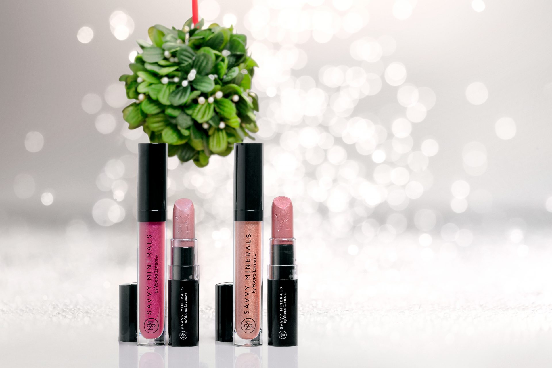 Young Living Savvy Minerals Lipstick under the mistletoe