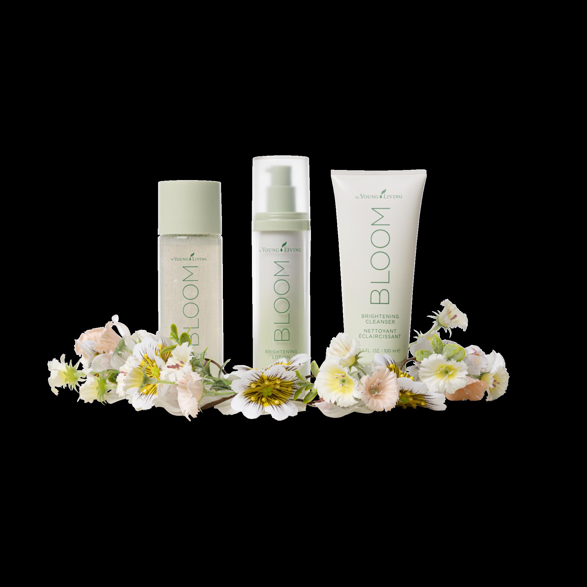 Young Living Essential Oils Bloom Skincare Line