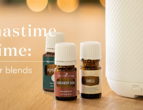 Christmastime all the time: 4 festive diffuser blends