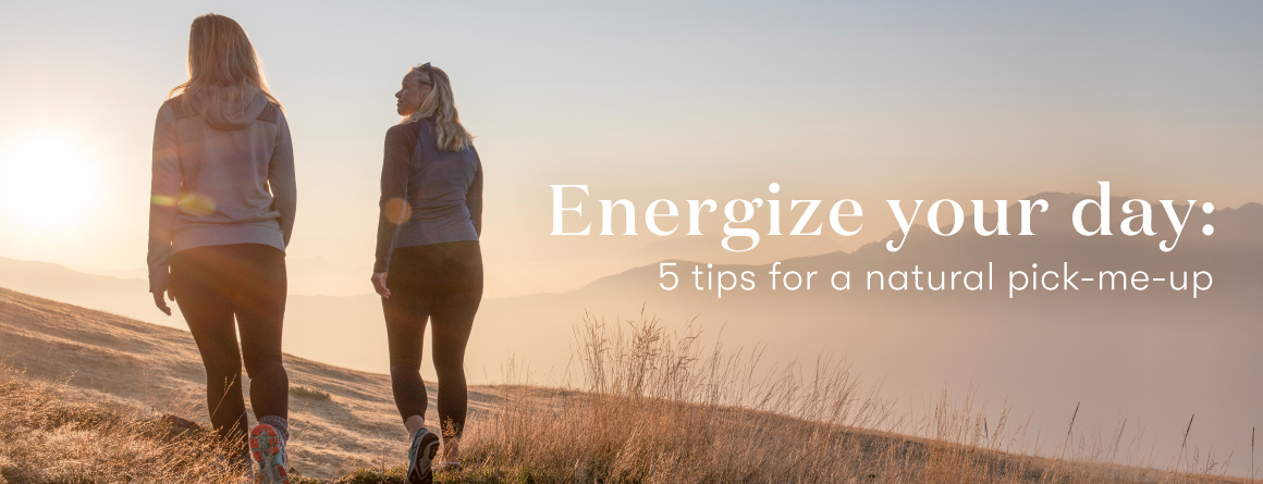Energize your day: 5 tips for a natural pick-me-up