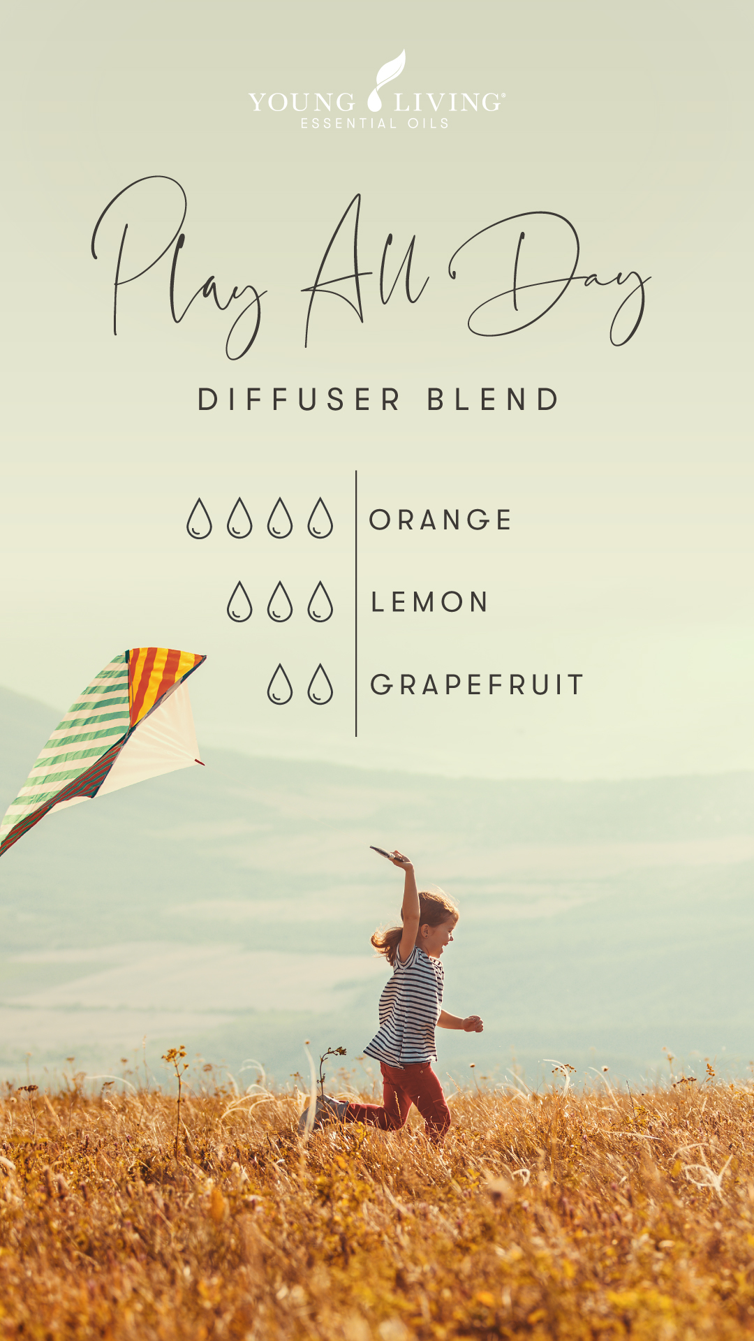 Play All Day diffuser blend - Young Living Essential Oils