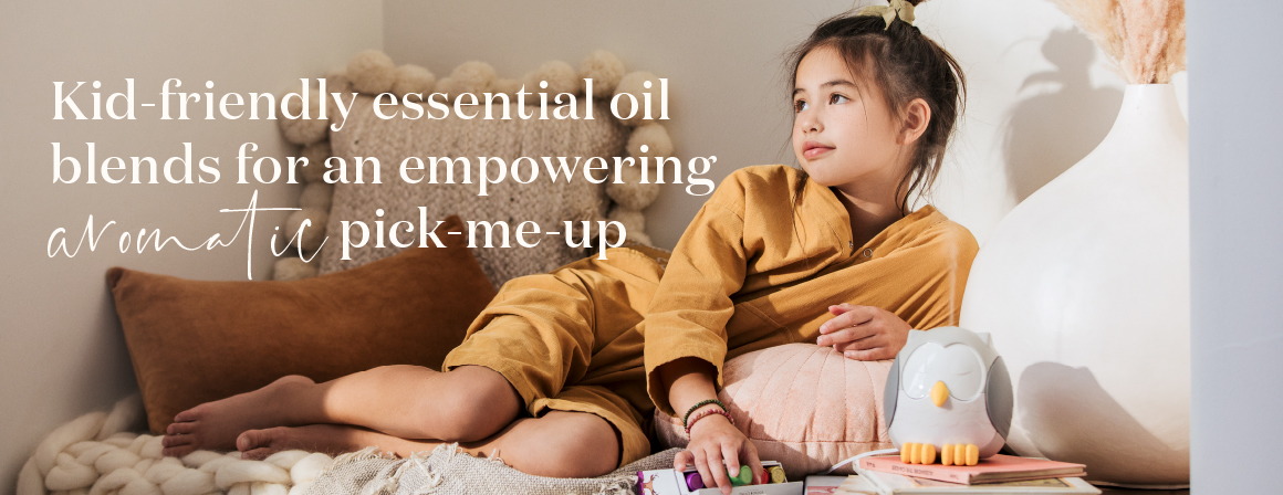 Kid friendly essential oil blends Young Living Kidscents essential oils