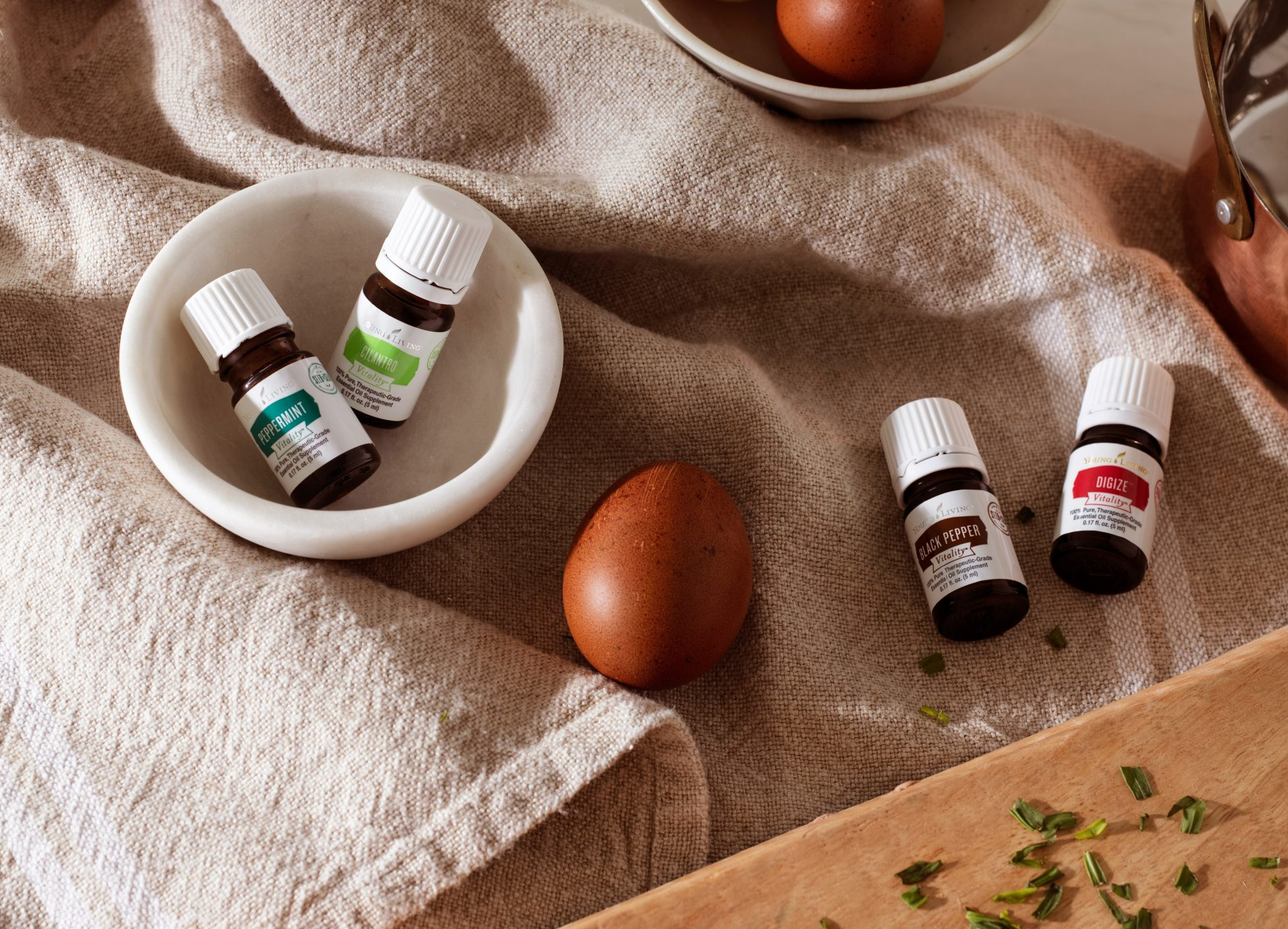 Young living essential oil vitality oils