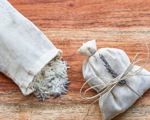 DIY Scented sachets from Young Living Essential Oils