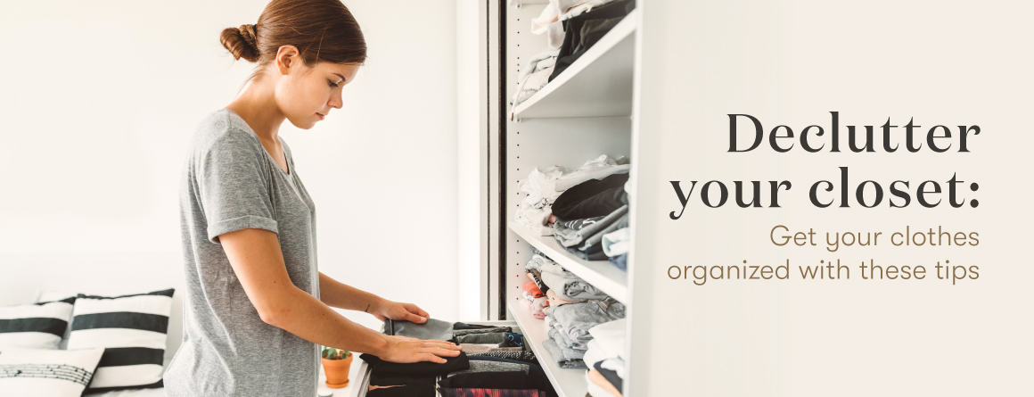 The Lavender Life Blog - Declutter Your Closet - Get your clothes organized with these tips