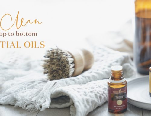 Spring clean your house from top to bottom using essential oils