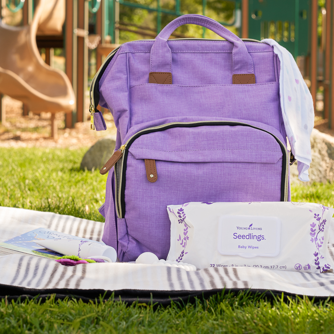 Young Living Seedlings Wipes