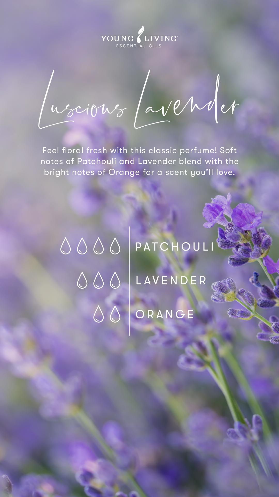 Luscious lavender Perfume Recipe
